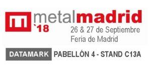 Datamark en Feria Metalmadrid 2018