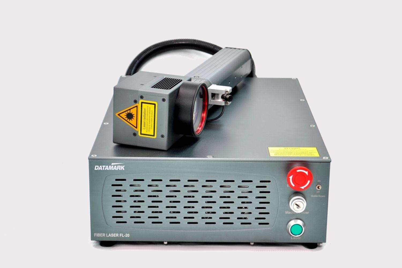 Marcadora laser para marcaje industrial