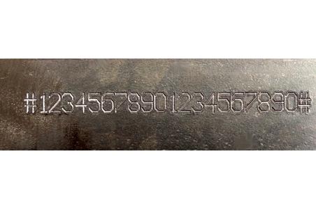 Marcado de numeracions en chasis y bastidores