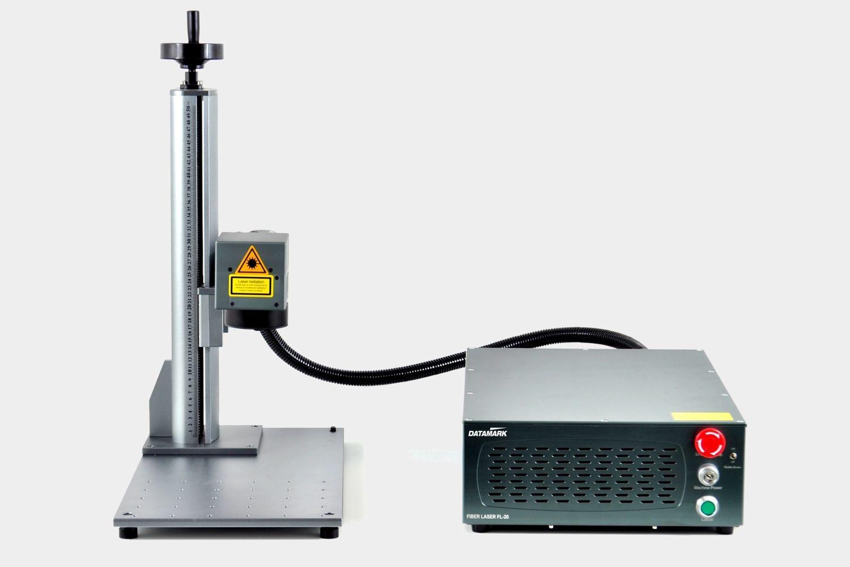 Máquina de marcado y grabado láser industrial